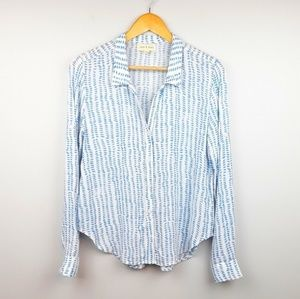 Cloth & Stone   Spotted Print Button Down Top